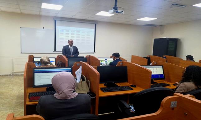 مندوبا عن رئيس عمان الاهلية .. أ.د.الكعابنة يلتقي أعضاء الهيئة التدريسية الجدد