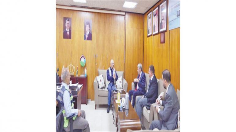 البوتاس العربية تتباحث حول افتتاح مكتب تصديري في البرازيل