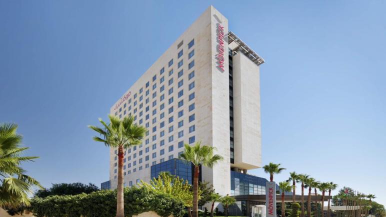 فندق موفنبيك (عمان) يحصل على التصنيف من أفضل 10٪ من الفنادق حول العالم