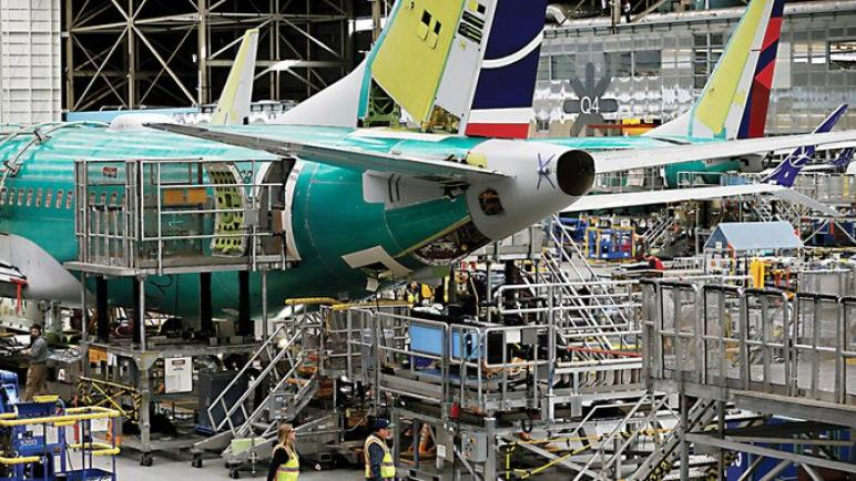 بوينج ومساع لقفزة إنتاجية جديدة من طراز 737 ماكس في أواخر عام 2022
