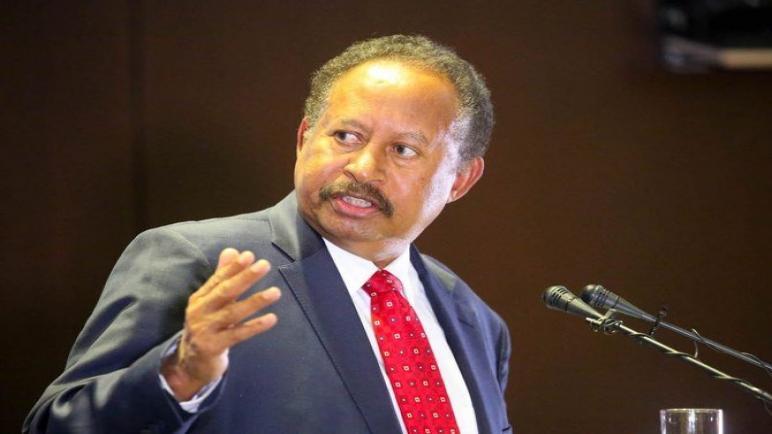حمدوك يؤكد على إن السودان يبذل جهودًا لحل أزمة الطاقة وخفض التضخم