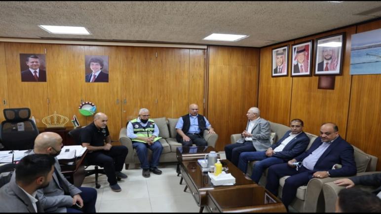 وفد يمثل نقابة المهندسين الأردنيين يزور مصانع شركة البوتاس العربية في غور الصافي… صور