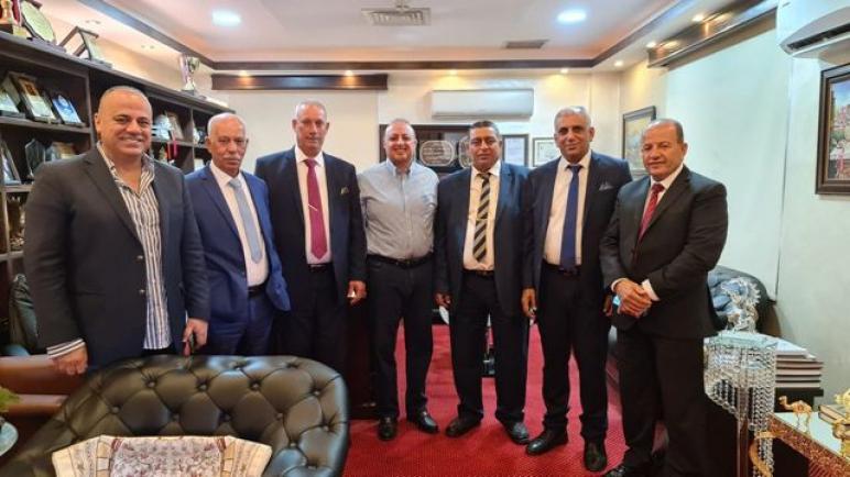د. الحوراني يلتقي وفدا من لجنة متابعة شؤون طلّاب عرب 48 في الجامعات الأردنيّة