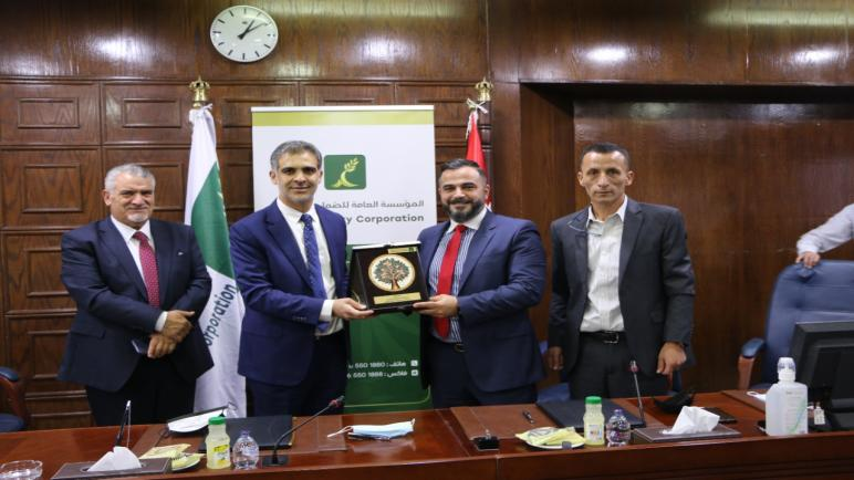 الضمان الاجتماعي توقع اتفاقية تعاون مع شركة عبدون للمجمعات التجارية لتوفير نافذة لها داخل مبنى (مكة مول)