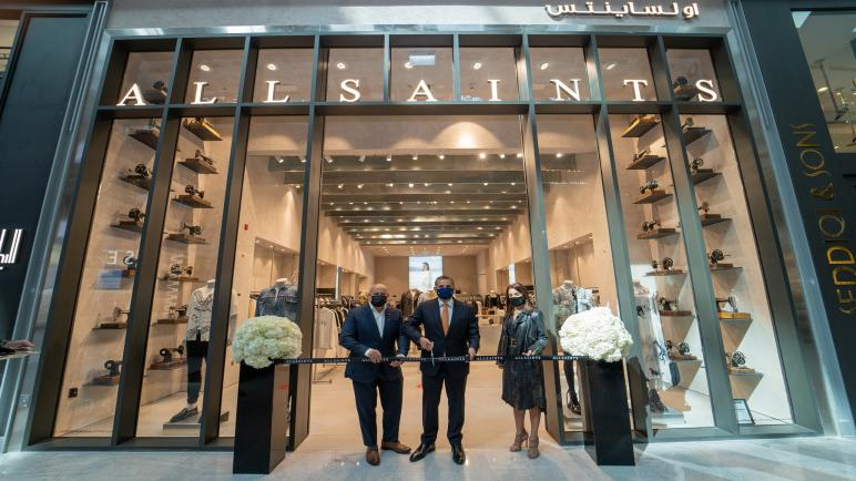 ALLSAINTS opens a new stomping ground at The Dubai Mall