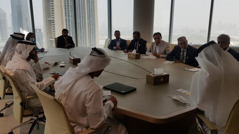 وزير دولة للتجارة الخارجية بدولة الإمارات العربية المتحدة مجلس الأعمال الباكستاني يبحثان سبل تعزيز العلاقات التجارية والاستثمارية