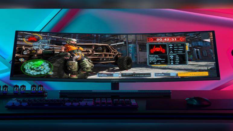 هواوي تطلق العنان لتجربة الألعاب المذهلة مع شاشة العرض المحيطي الغامرة الأولى من نوعها والمتوفرة في دولة الإمارات إلى جانب شاشة HUAWEI MateView والأجهزة الفائقة الأخرى