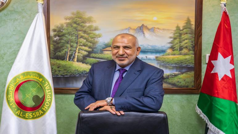 د.نائل زيدان المصالحة… رجل القطاع الطبي الخاص لعام 2020