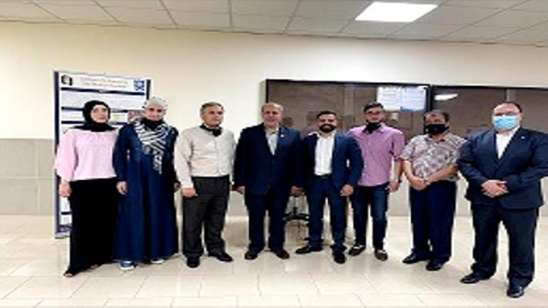 معرض مشاريع التخرج لطلبة قسم الهندسة الكهربائية في جامعة عمان الأهلية